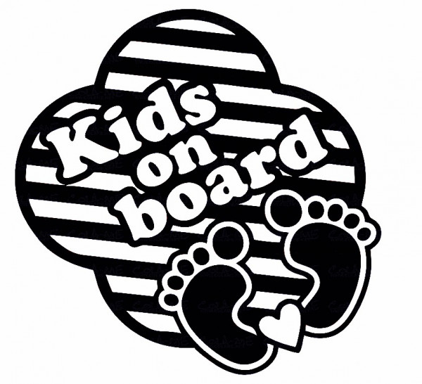 Imagens Autocolante - Kids on Board