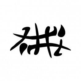 Autocolante - Letra Chinesa 2