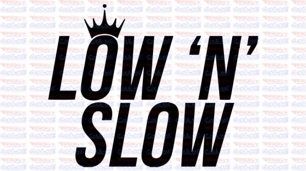 Autocolante - LOW N SLOW