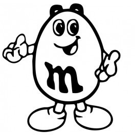 Autocolante - M&M'S