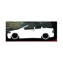 Autocolante - Opel Astra G Cabrio