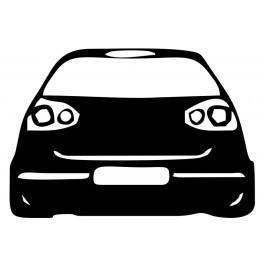 Autocolante para VW Golf Mk5