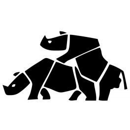 Autocolante - Rhino