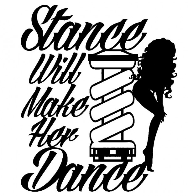 Imagens Autocolante - Stance will make her dance
