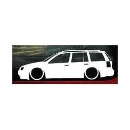 Autocolante - Volkswagen Golf IV Variant