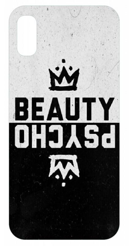 Capa de telemóvel com Beauty Psycho