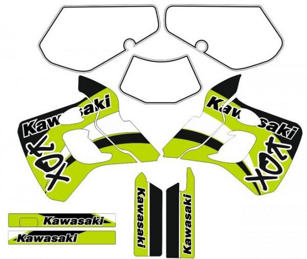 Imagens Kit Autocolantes Para  Kawasaki KDX 250