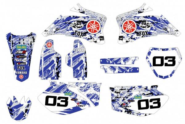 Kit Autocolantes Para Moto - Yamaha YZF 250 / 450 06-09