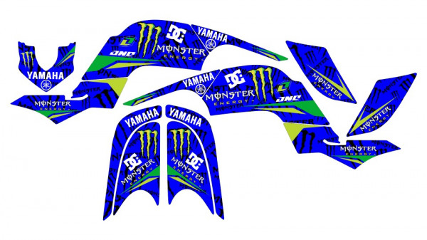 Imagens Kit Autocolantes Para Yamaha Raptor 660