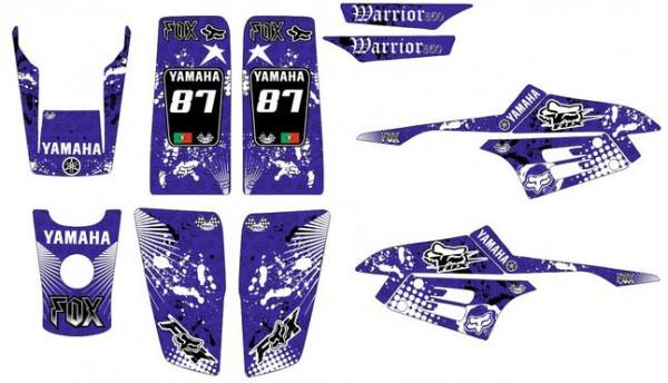 Imagens Kit Autocolantes Para  Yamaha Warrior 350