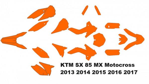KTM SX 85 MX Motocross 2013 2014 2015 2016 2017