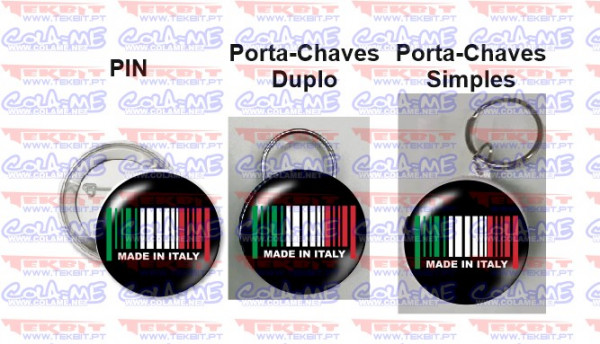 Imagens Pin / Porta Chaves - Made in Italy