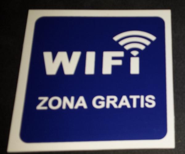 Imagens Placa PVC - WIFI Zona grátis