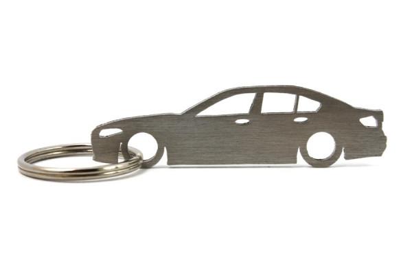 Imagens Porta Chaves em inox com silhueta com BMW F10 limousine