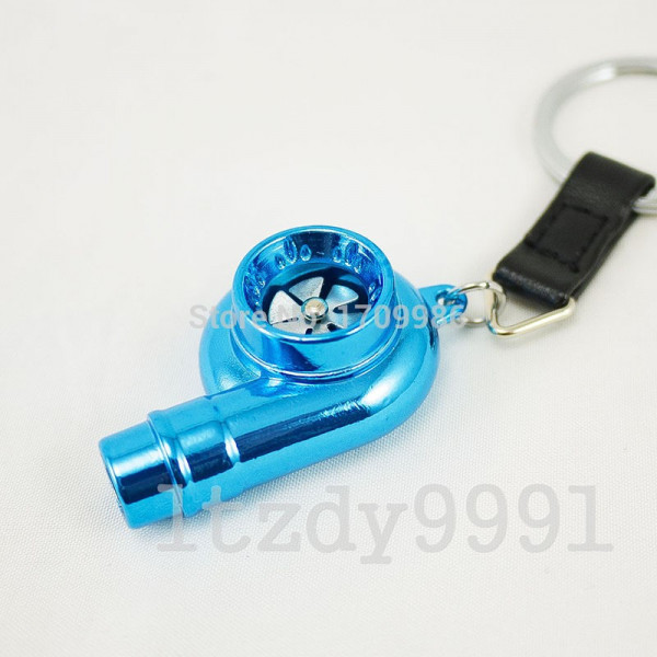 Porta Chaves - Turbo (funcional) - Azul Cromado