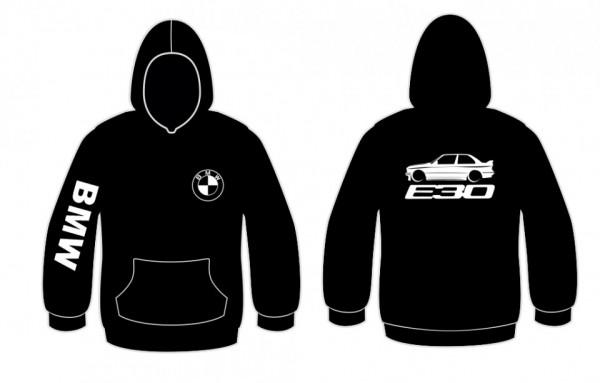 Sweatshirt com capuz para BMW E30