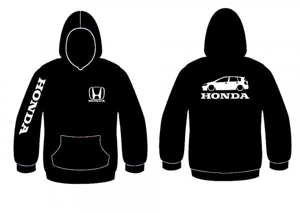 Imagens Sweatshirt com capuz para Honda Civic EP 5 Portas