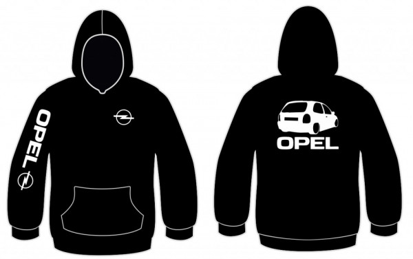 Imagens Sweatshirt com capuz para Opel Corsa B