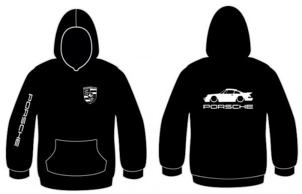 Imagens Sweatshirt com capuz para Porsche 911 Turbo