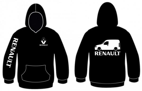 Imagens Sweatshirt com capuz para Renault Kangoo Van mk1