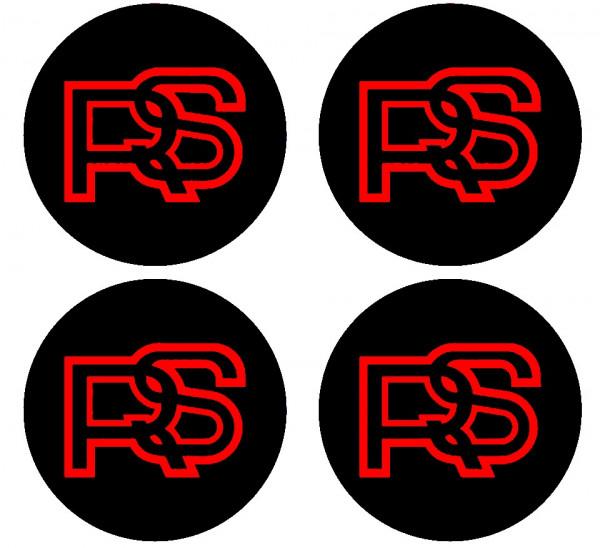 4 Autocolantes Para Centros de Jantes para RS