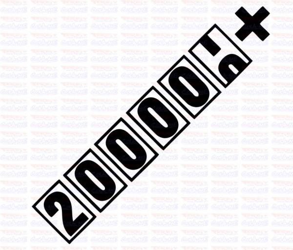Autocolante - 200000+
