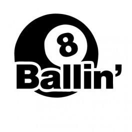 Autocolante - 8 Balling