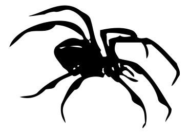 Autocolante - Aranha 5