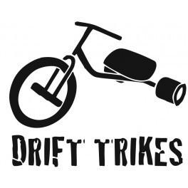 Autocolante - Drift Trikes 2