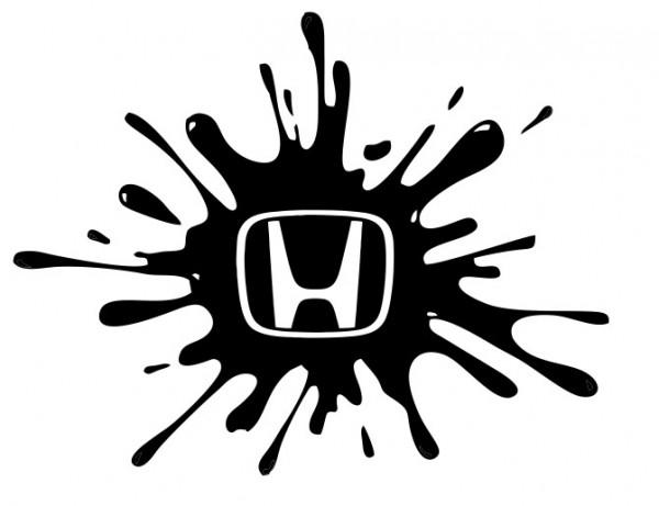 Imagens Autocolante - Honda Splash