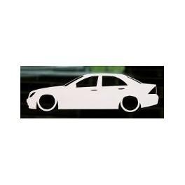 Autocolante - Mercedes C W203