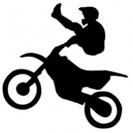 Autocolante - Motocross