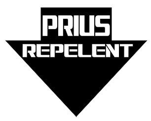 Autocolante - Prius repelent