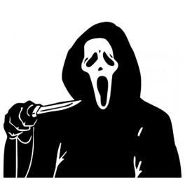 Autocolante - Scream 2