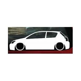Autocolante - Toyota Corolla 3 Portas