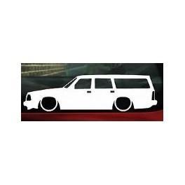 Autocolante - Volvo 200 Carrinha