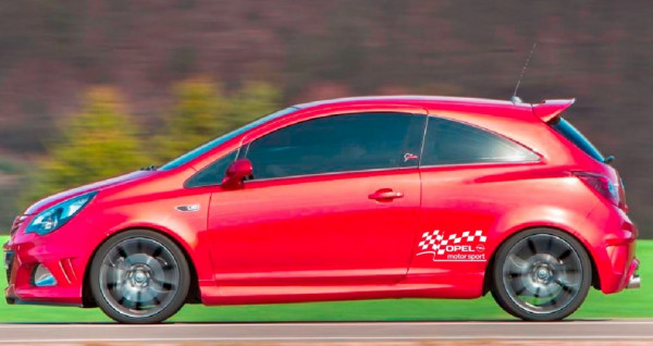 Autocolantes - Opel Motorsport