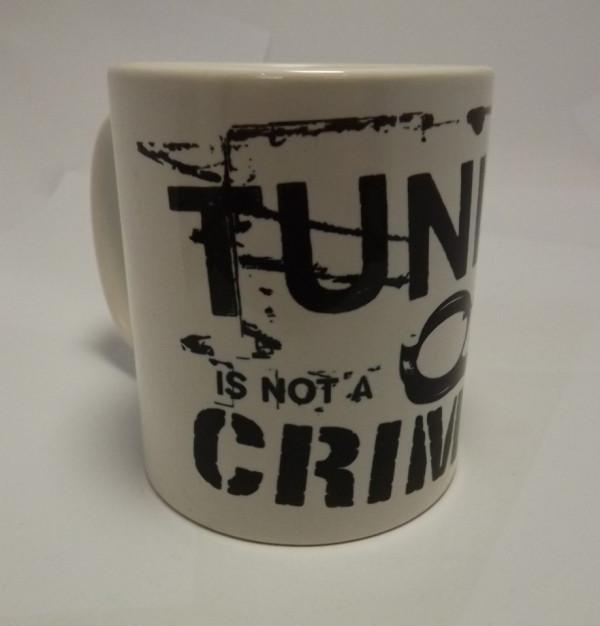 Imagens Caneca com Tuning is not a crime