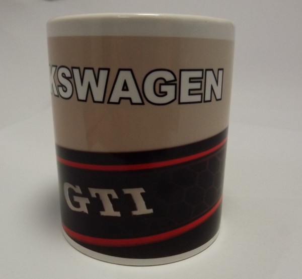 Caneca com Volkswagen GTI