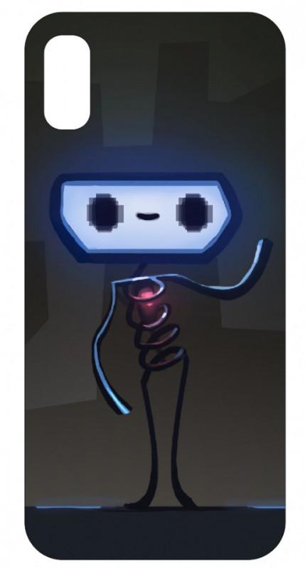 Imagens Capa de telemóvel com Boneco robot