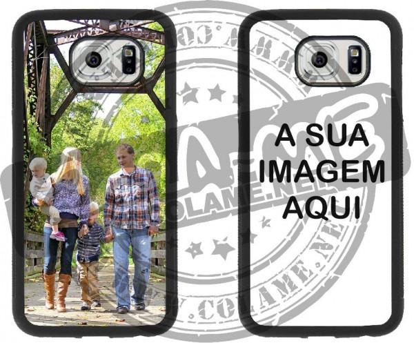 Capa de telemóvel personalizada com foto de cliente