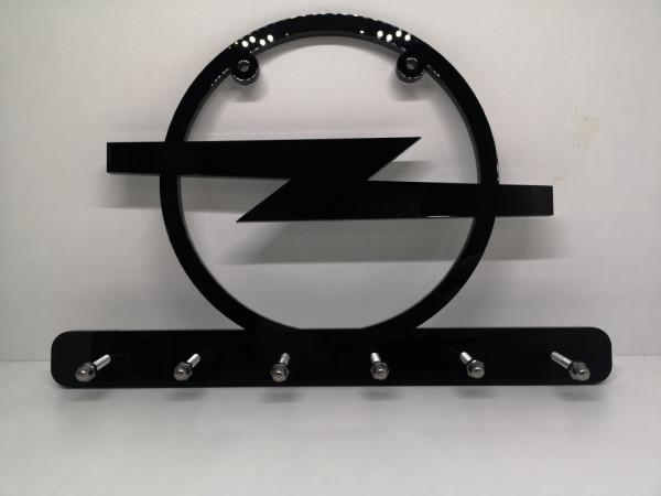 Chaveiro em Acrílico com Símbolo Opel