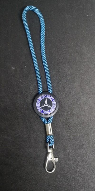 Fita Porta Chaves (lanyard) Ajustável para Mercedes