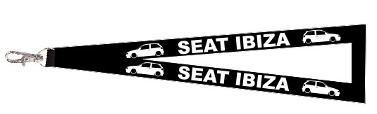 Fita Porta Chaves para Seat Ibiza 6k