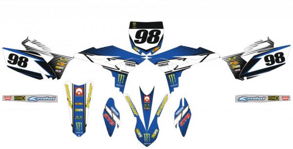 Kit Autocolantes Para Moto - Yamaha YZF 250 10-13