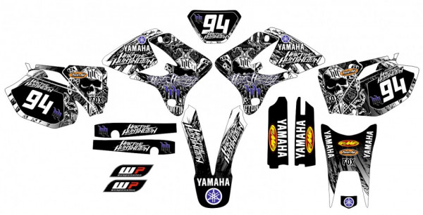Imagens Kit Autocolantes Para Yamaha  Wr 250 450 03-04