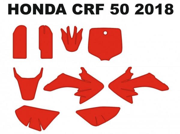 Imagens Molde - HONDA CRF 50 2018
