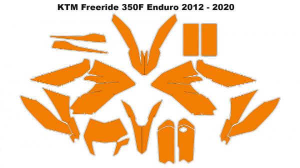 Imagens Molde - KTM 350 FREERIDE 2012 - 2020