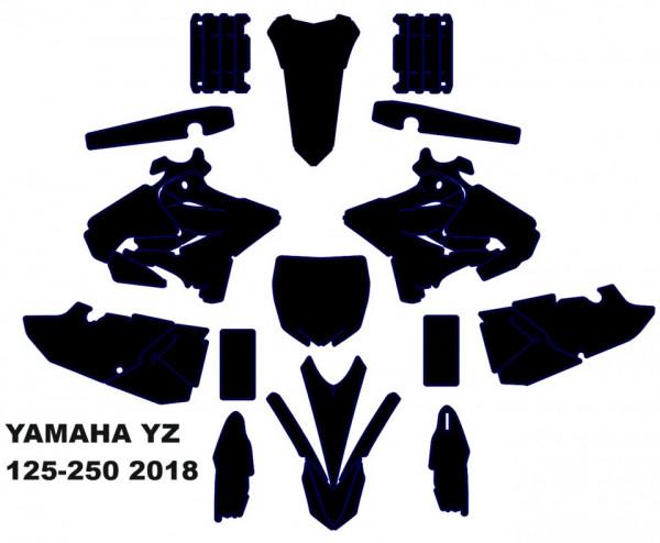 Imagens Molde - YAMAHA YZ 125-250 2018