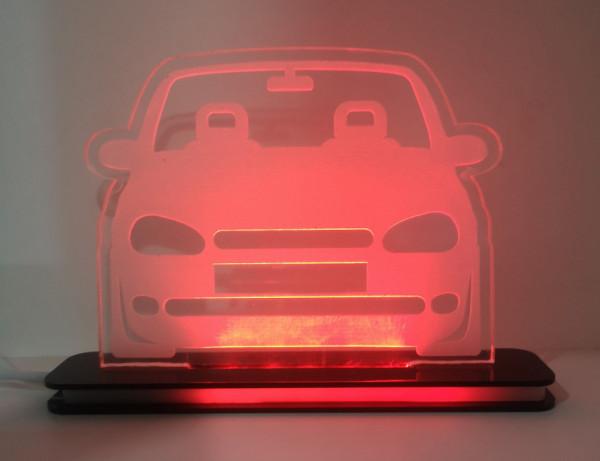 Moldura / Candeeiro com luz de presença - Opel Corsa B